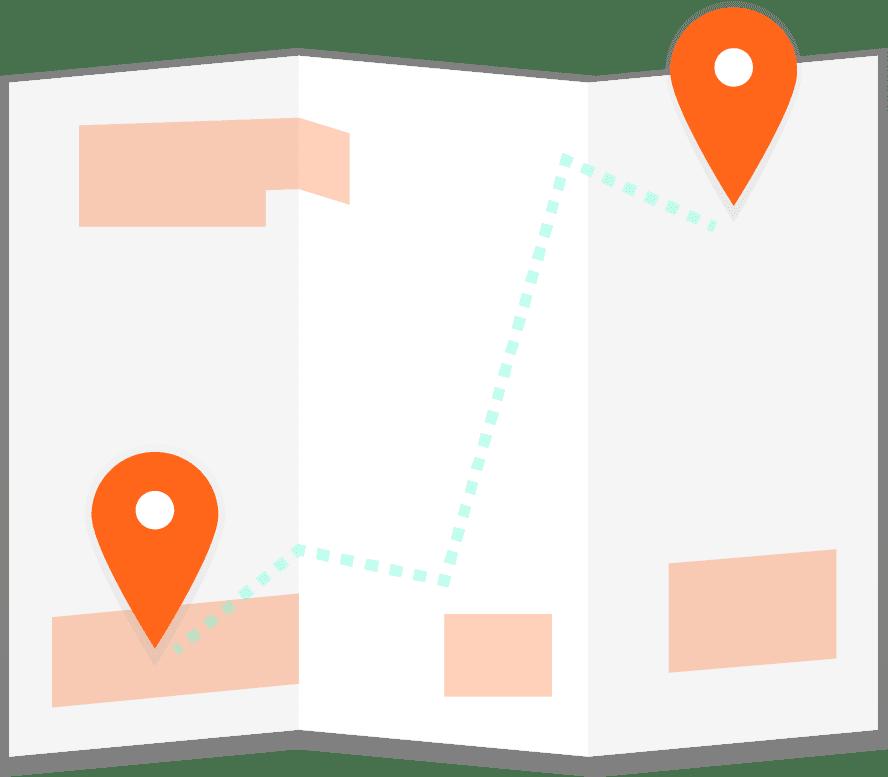 Icone map de Rezé et Port Saint Père